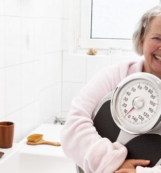senior woman overweight