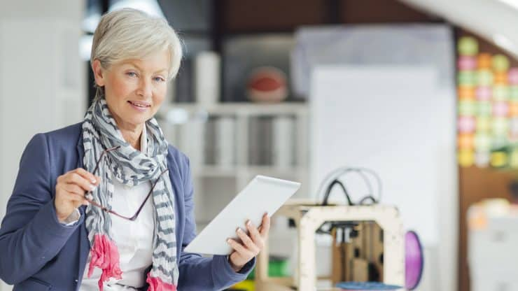older woman entrepreneur