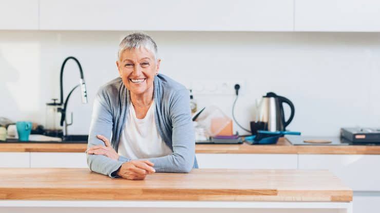 retirement kitchen renovation