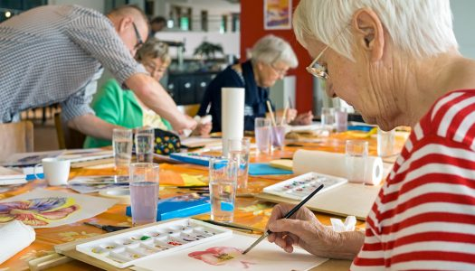 How to Get Involved in the Creative Arts in Your 60s