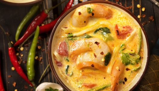 Whole30 Diet Recipes: Shrimp Soup and Dover Filets with Chopped Vegetables