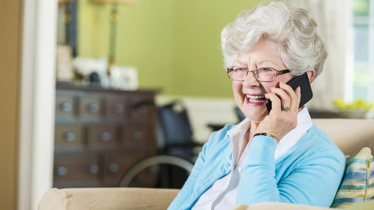 A Phone Call a Day Keeps the Loneliness Away: Nonprofit Helps Seniors  Socialize with Daily Phone Calls | Sixty and Me