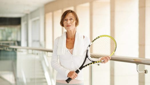 Tennis as a Form of Meditation for Women Over 60