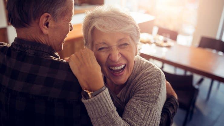 Senior Dating Game