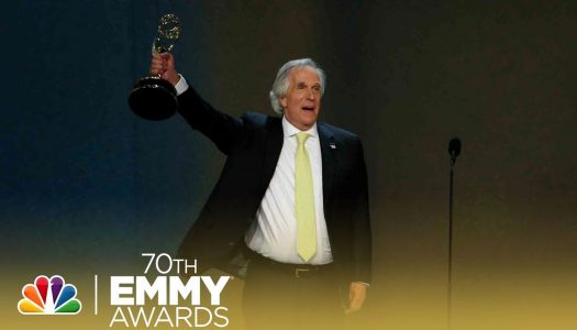 """Ayyyy, Two Thumbs-Up for Henry Winkler's (aka Arthur """"The Fonz"""" Fonzarelli) First Emmy Win in 40 Years"""