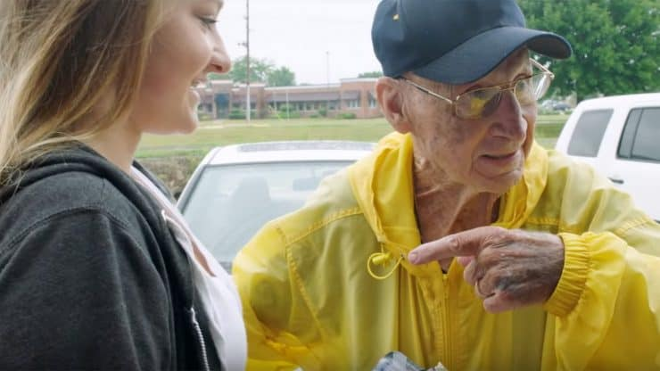 93 year old kindness