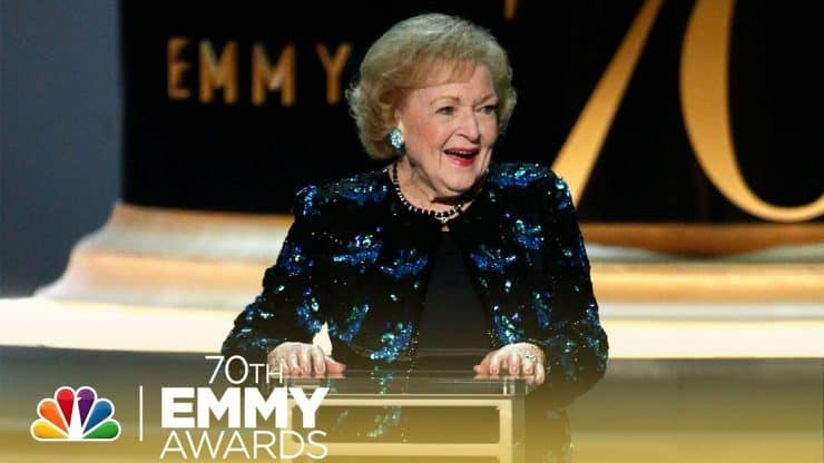 Betty White Emmys 2018