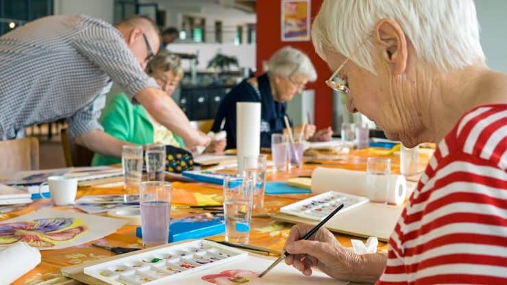 older people elderly arts
