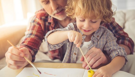 4 Tips for More Precious Moments Creating Art with Your Grandchildren