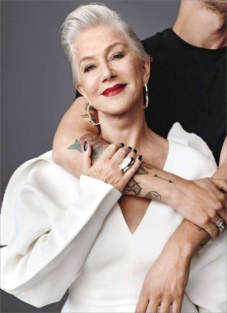 Helen Mirren Allure cover