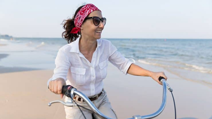 Bike Riding Still an Option for Those Over 60.
