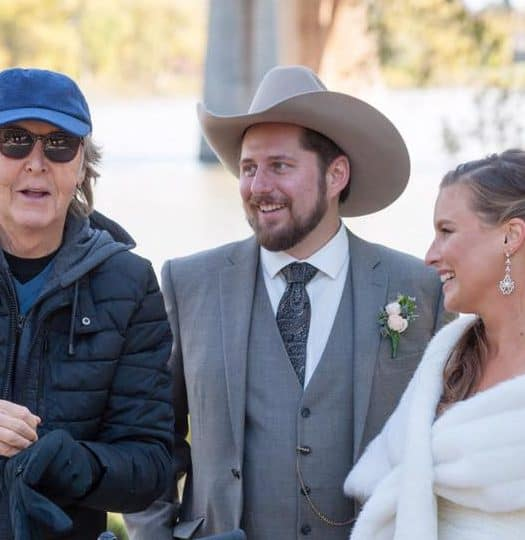Paul McCartney wedding