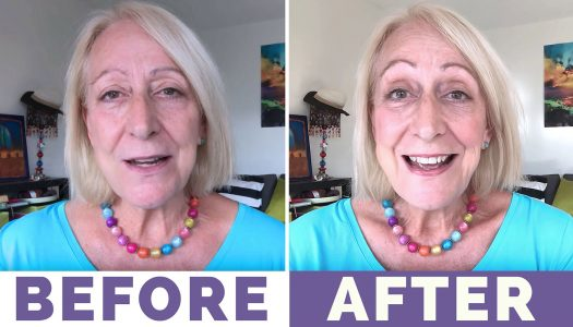 My Fast and Fun 2-Minute Makeup for Older Women Tutorial