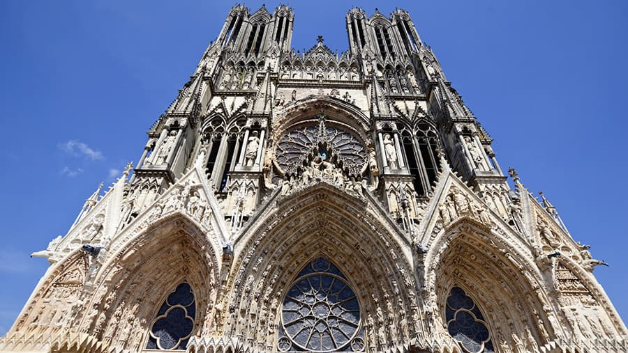 Reims Cathedral France Champagne