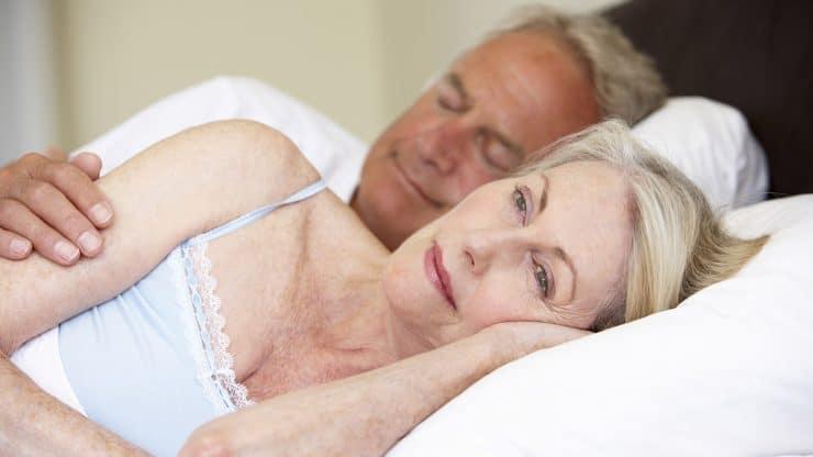 mature women insomnia