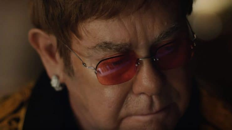Elton John holiday commercial