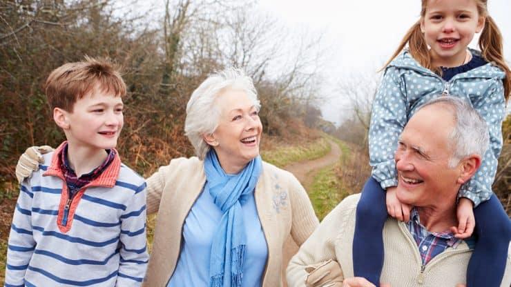 Grandparents Travelling With Grandchildren