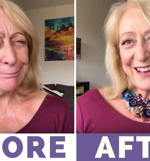 Holiday Makeup for Older Women