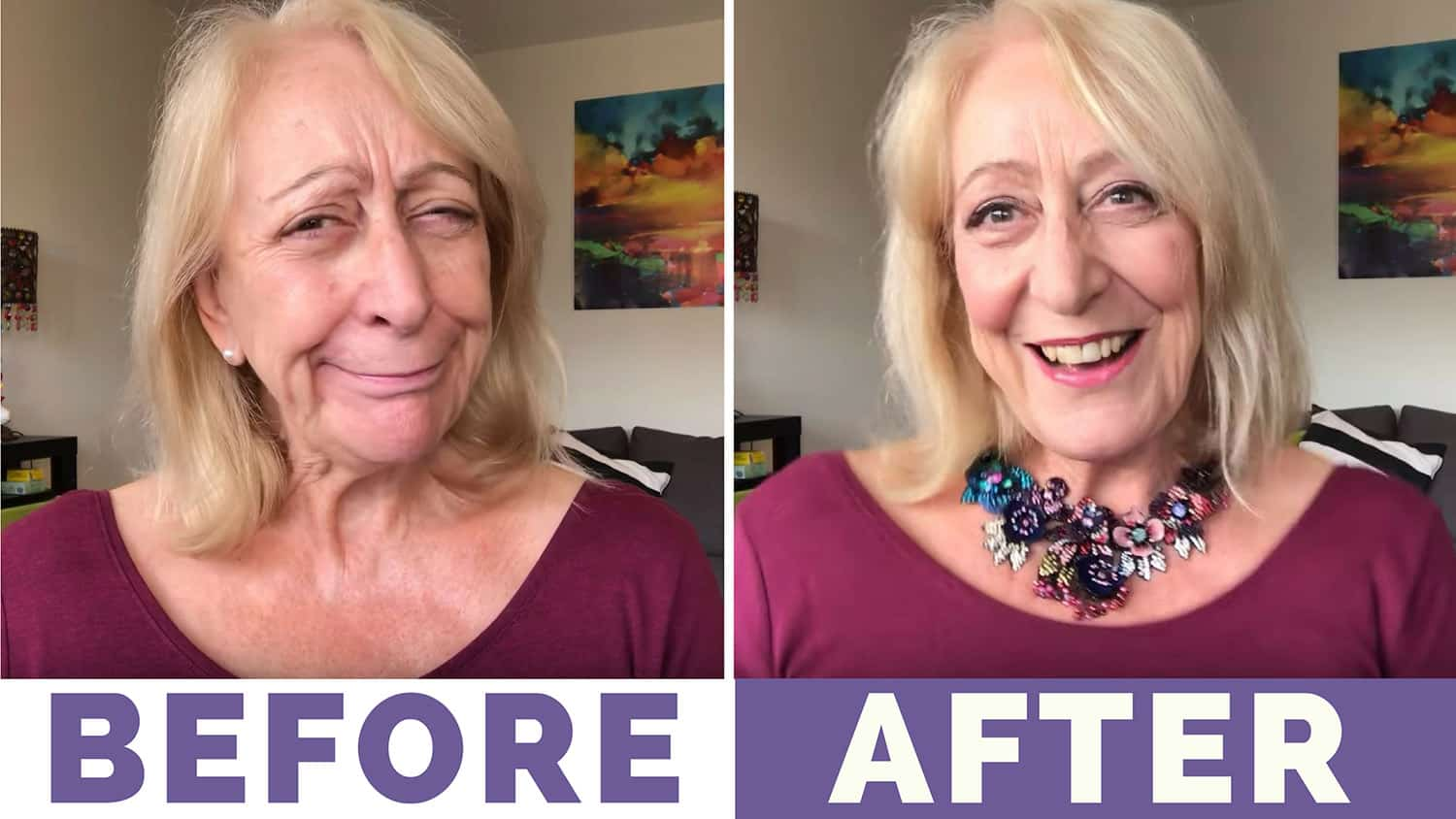 Holiday Makeup for Older Women