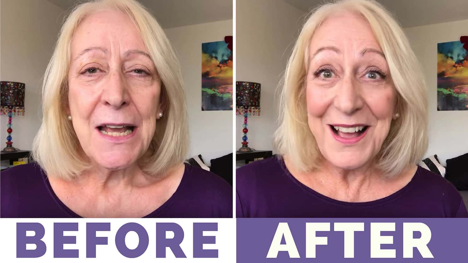 "My ""Trend it Up"" Makeup for Women Over 60 Tutorial"