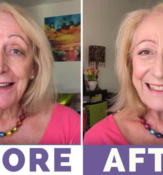 Makeup for Older Women: My $15 Palette Makeover