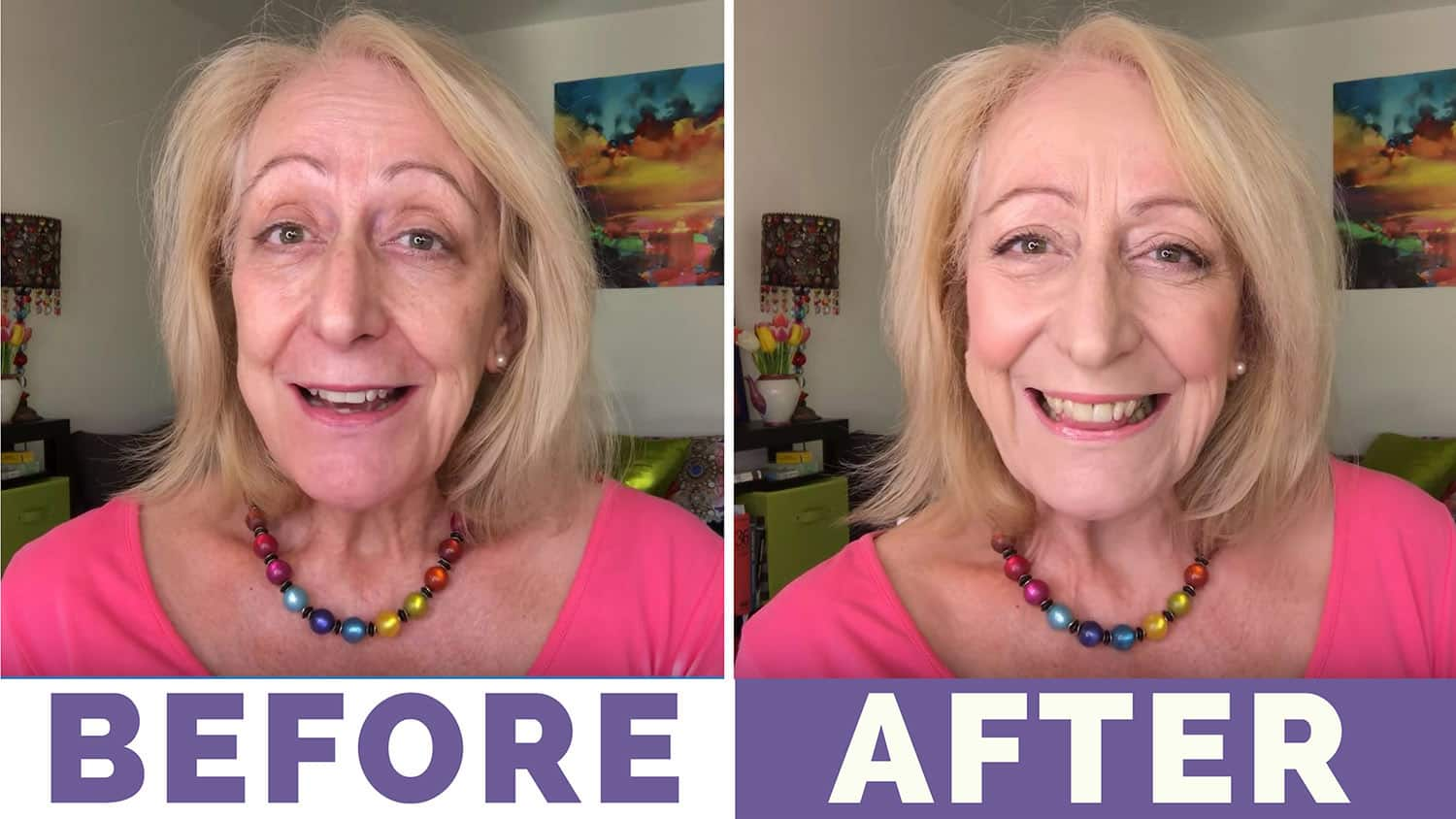 Makeup for Older Women: My $15 Palette Makeover