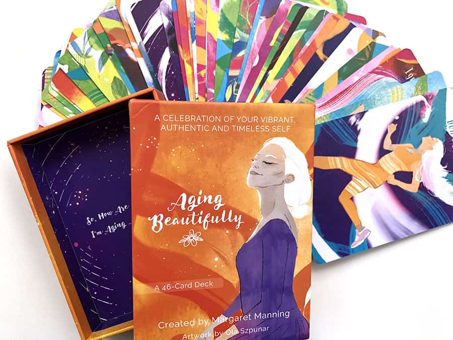 Aging Beautifully Affirmation Cards