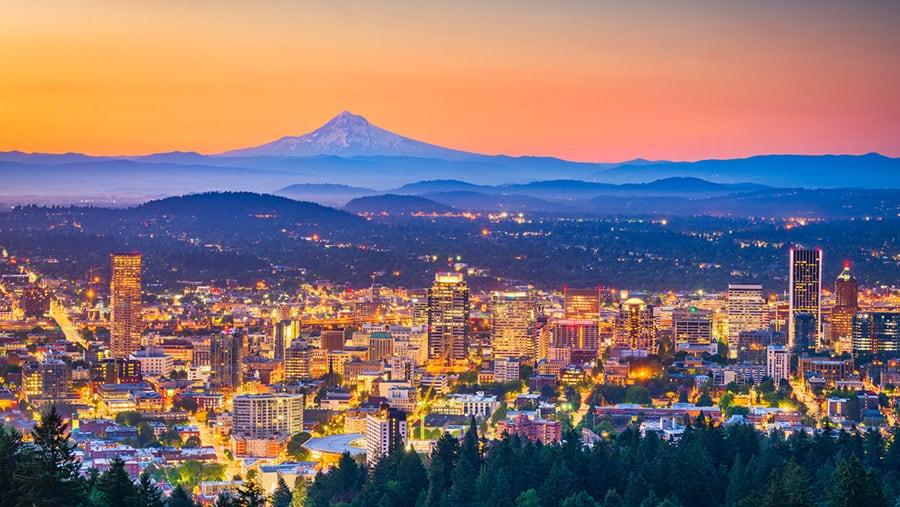 Retirement Destinations - Portland