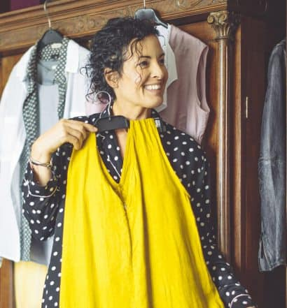 decluttering clothes after 50