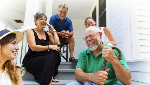 How Important Are Your Neighbours as You Reach the Mark of 60?