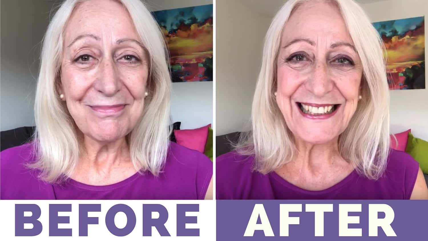 Makeup for Older Women: My (No Item Over $5!) Party Makeover Using Catrice Products