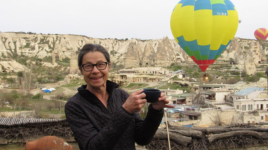 A coffee toast to ballooning