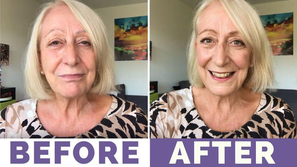 """Makeup for Mature Women: """"Less is More"""" Summer Look and Tutorial"""