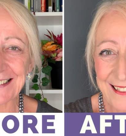 Summer-Makeup-for-Older-Women-Tutorial