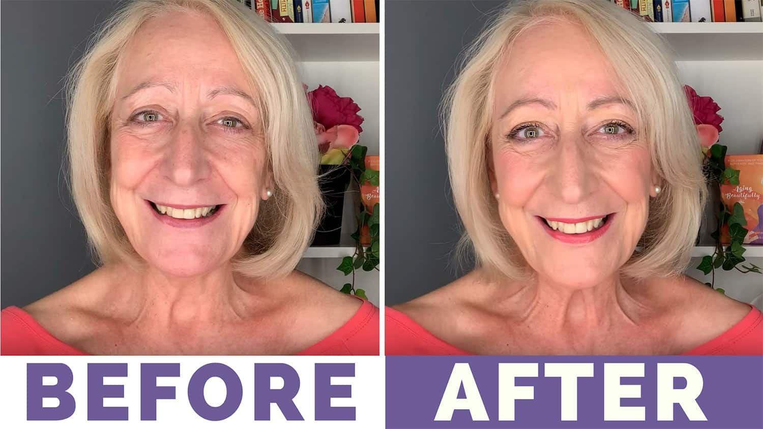 My First Bobbi Brown Makeup For Older Women Tutorial Sixty And Me