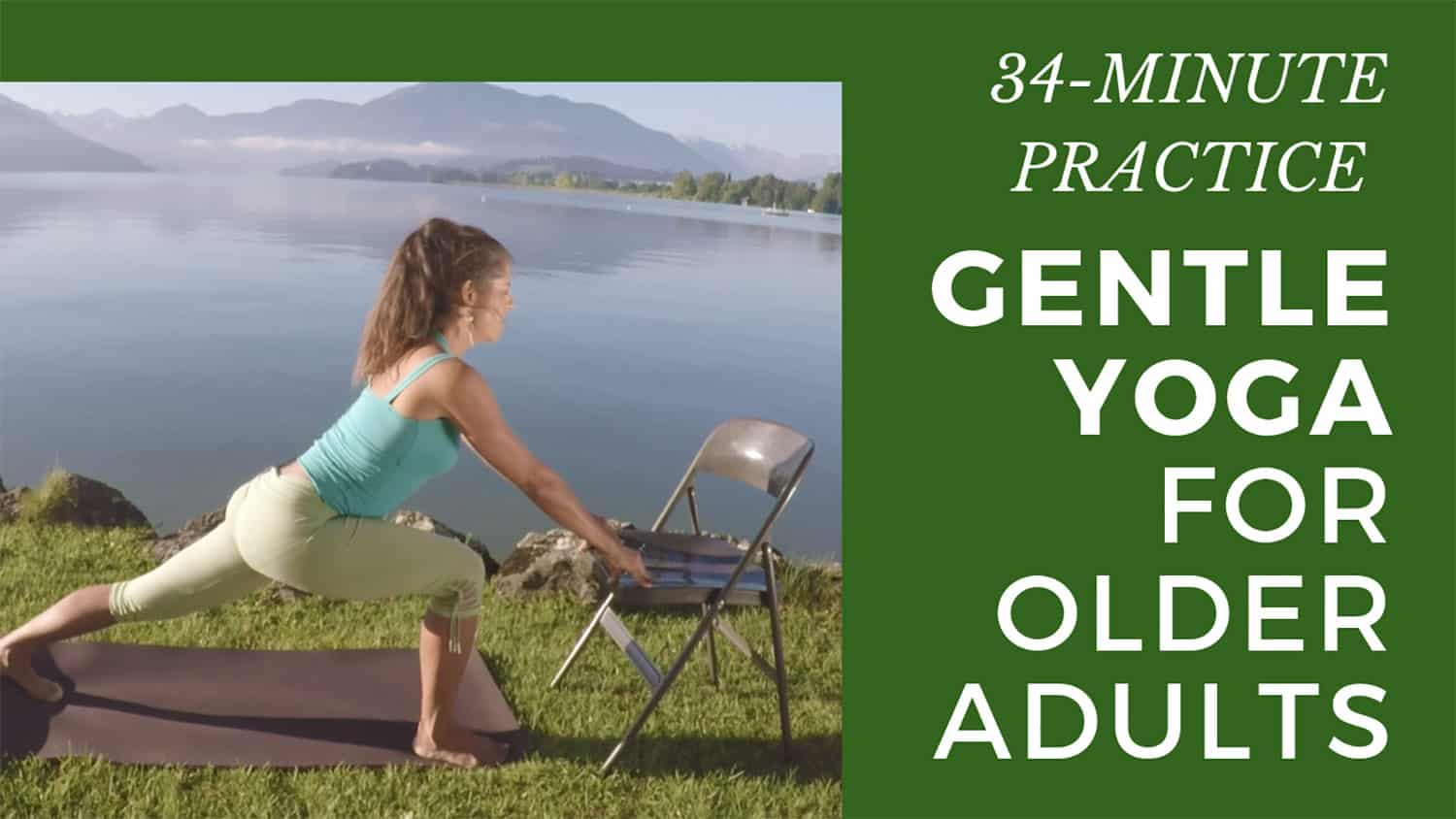 Wow Free Gentle Yoga For Seniors And Beginners Open Up And See What Your Body Can Do Sixty And Me