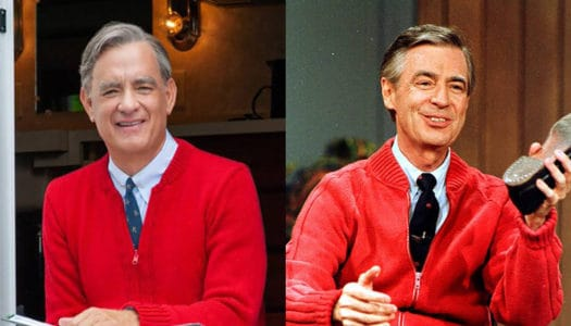 "How Mr. Rogers Moved Tom Hanks to Tears: Behind the Film ""A Beautiful Day in the Neighborhood"""