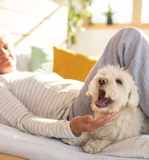 The Many Joys Lying in Bed Can Bring to a Senior Woman