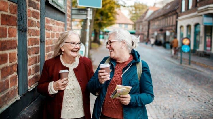 older adult friends