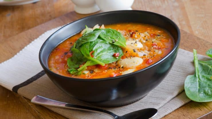 Tired of Beans Try This Super-Easy, Yummy, Immune-Boosting, Gluten-Free, Vegan, Roasted Vegetable Soup