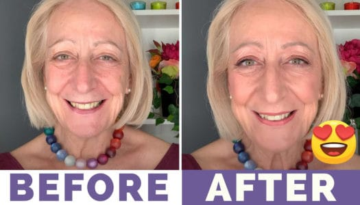 "My ""Believe Beauty"" Affordable Makeup for Older Women Tutorial Will Cheer You Up!"