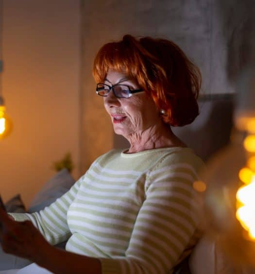 What Technology Can Make Living Alone Less Scary for Seniors