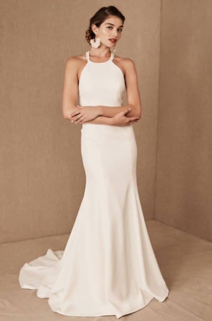 Modern Silhouette Gown by Jenny Yoo Shipley