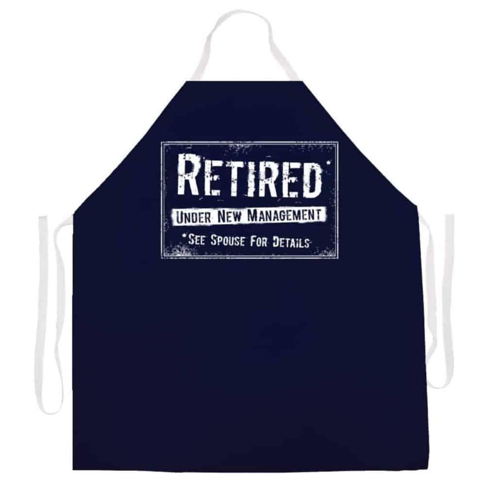Funny Retirement Apron