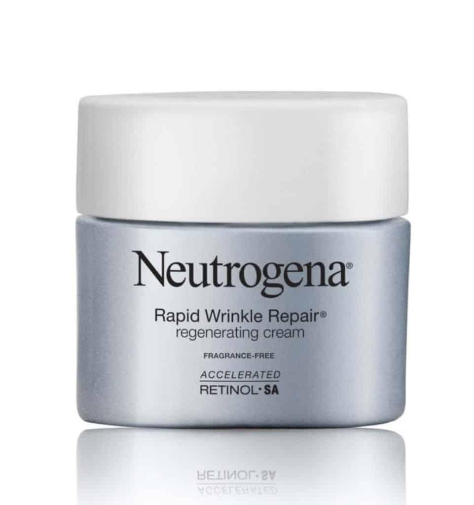 Neutrogena Rapid Wrinkle Repair Regenerating Cream with Accelerated Retinol SA (Fragrance-Free)