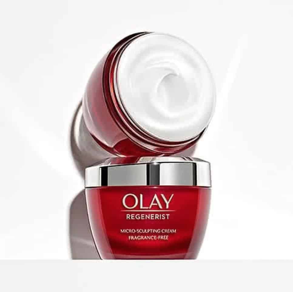 Olay Regenerist: Microsculping Fragrance-Free Cream