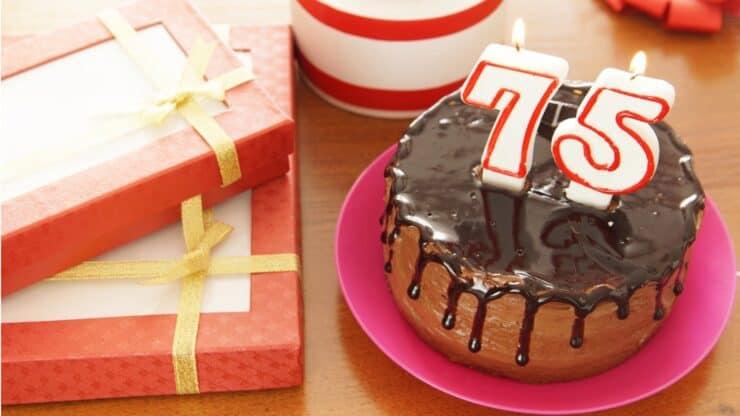 75th birthday gifts