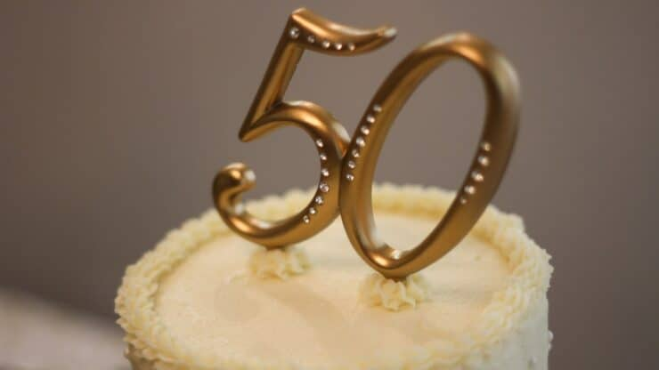 gifts for 50th wedding anniversary