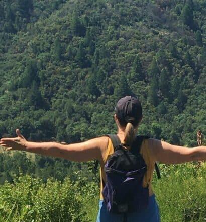 hiking solo