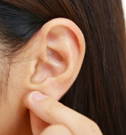ear massage for stress relief